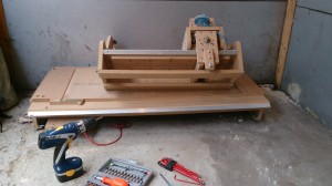 Old DIY CNC Router in bits