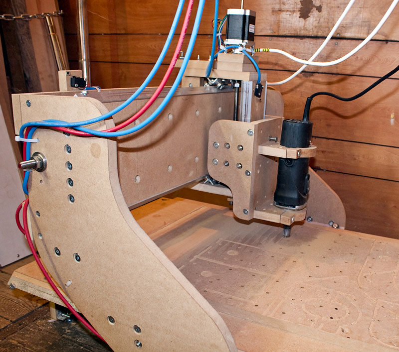 DIY CNC Router - Birth of a new project - Craftygeek