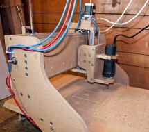 MDF DIY CNC Router